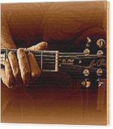Makin' Music Wood Print