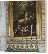 Malachite And Lapis Lazuli Altar Wood Print