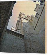 Malcesine Castle-lago Di Garda Wood Print