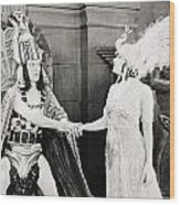 Male And Female, 1919 Wood Print