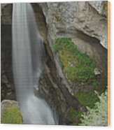 Maligne Canyon 2 Wood Print