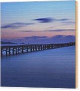 Mallorca Sunrise Wood Print by Maico Presente