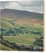 Mam Tor - Derbyshire Wood Print by Graham Taylor