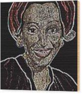 Mama Nura Wood Print