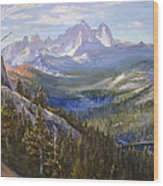 Mammoth Lakes In The High Sierras Wood Print