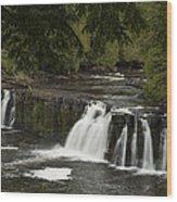 Manabezho Falls 1 Wood Print