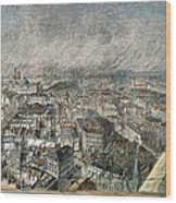 Manchester, England, 1876 Wood Print by Granger