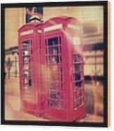 #manchester #london #uk #england Wood Print