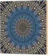 Mandala 111511d Wood Print