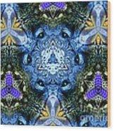 Mandala Animal Wisdom Wood Print