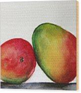 Mangos Wood Print by Prashant Shah