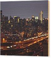 Manhattan- 2 Wood Print