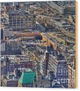Manhattan Lincoln Tunnel Entrance Wood Print