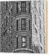 Manhattan Skyline Series 023 Wood Print