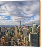 Manhattan05 Wood Print by Svetlana Sewell
