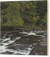 Manido Falls 7 Wood Print