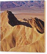 Manley Beacon Death Valley Wood Print