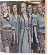 Mannequins I Wood Print