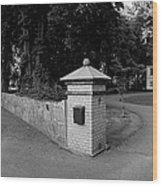 Manor House Hueganas Wood Print