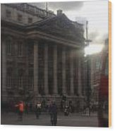 Mansion House City Of London Wood Print