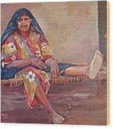 Mansorya Wood Print