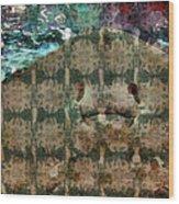 Manta Ray Wood Print