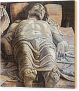 Mantegna: The Dead Christ Wood Print