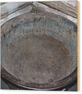 Maple Sap Boiling Pot Wood Print
