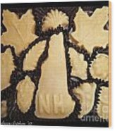 Maple Sugar Candies Wood Print