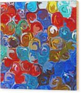 Marble Collection Abstract Wood Print