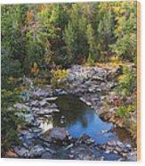 Marble Creek 1 Wood Print