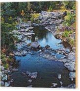 Marble Creek 2 Wood Print