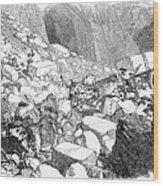 Marble: Quarry, 1852 Wood Print