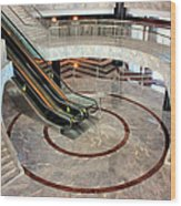 Marble Staircases Wood Print