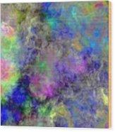 Marbled Clouds Wood Print