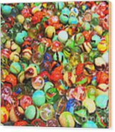 Marbles - Painterly Wood Print