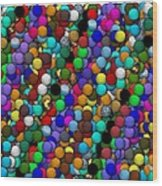 Marbles..or...gumballs Wood Print