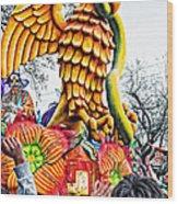 Mardi Gras Parade 2 Wood Print