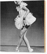 Margaret Obrien, Ca. 1940s Wood Print by Everett