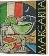Margarita Poster Wood Print