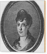Maria Bonaparte (1750-1836) Wood Print