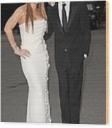 Mariah Carey Wearing A Georges Chakra Wood Print by Everett