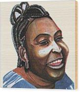 Mariama Ba Wood Print