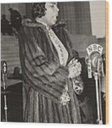 Marian Anderson 1897-1993, At A Nbc Wood Print