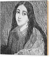Marie Duplessis Wood Print