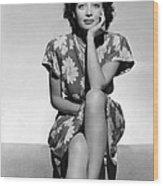 Marie Windsor, 1942 Wood Print by Everett