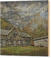 Marie Zimmermann Farm Wood Print