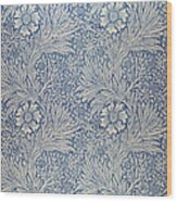 Marigold Wallpaper Design Wood Print