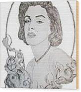 Marilyn 2 Wood Print