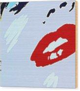 Marilyn Monroe 2 Wood Print by Micah May